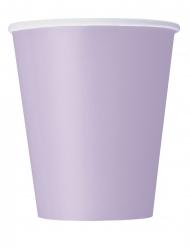 14 Bicchieri di carta lavanda 266ml