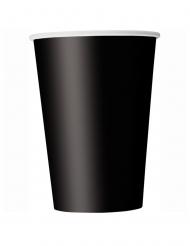 14 Bicchieri di carta neri 266ml