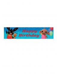 Striscione Happy Birthday Bing™ 270x20cm