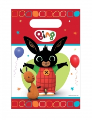 8 buste regalo in plastica fina Bing™