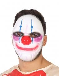 Maschera clown sorriso terrificante adulto