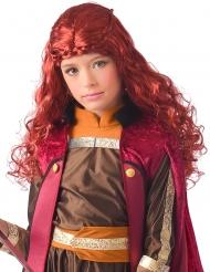 Parrucca principessa bordeaux Grande Nord bambina