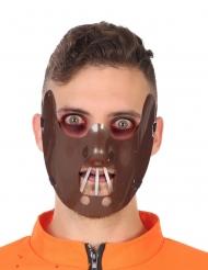 Mezza maschera cannibale adulto