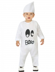 Costume tuta da fantasma bebe