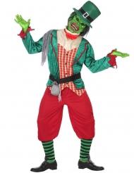 Costume da leprecauno zombie per uomo