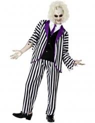 Costume fantasma zombie eccentrico uomo