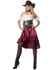 Costume donna del saloon per adulto