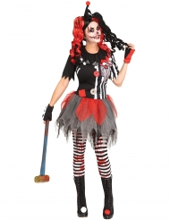 Costume clown sinistro donna