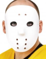 Maschera da hockey in plastica adulto