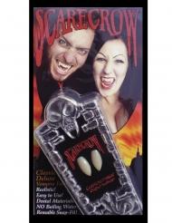 Denti da vampiro lusso adulto