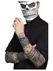 2 Maniche tatuaggi Dia de los Muertos