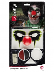 Kit trucco FX clown assassino adulto