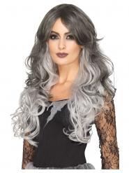 Parrucca termoresistente deluxe grigia donna