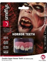 Dentiera da zombie deluxe per adulto