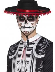 Sombrero Dia de los Muertos adulto