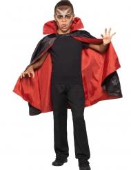 Mantello da vampiro reversibile per bambino
