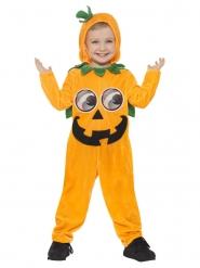 Costume zucca sorridente bambino