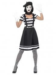 Costume mimo con trucco donna