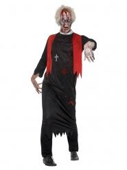 Costume da prete zombie uomo