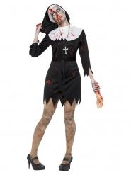 Costume suora zombie per donna