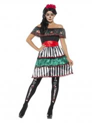 Costume Señora Dia de los Muertos donna