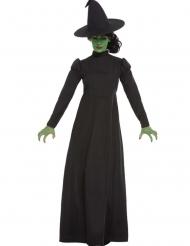 Costume da strega nera per donna