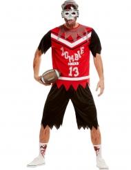 Costume giocatore football zombie uomo