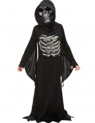 Costume da morte scheletro bambino