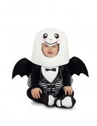 Costume tuta da fantasma pipistrello bebe