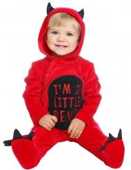 Costume sono un piccolo diavolo bebè