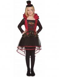 Costume da vampiretta rosso per bambina