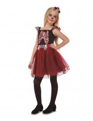 Costume da dama scheletro per bambina