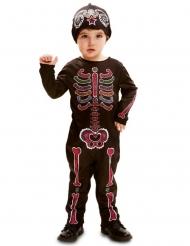 Costume Dia de los Muertos bebè