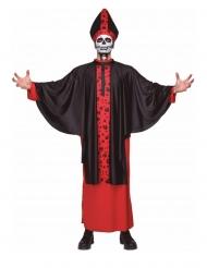 Costume da vescovo scheletro adulto