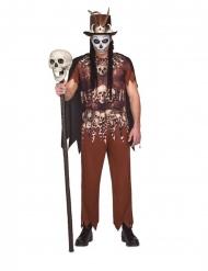 Costume vudu cannibale per uomo