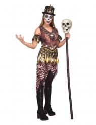 Costume vudu cannibale per donna
