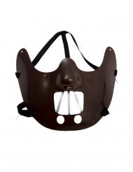 Mezza maschera da cannibale