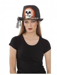 Cappello con teschio adulto 59 cm