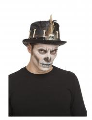 Cappello a cilindro vudu 59 cm adulto