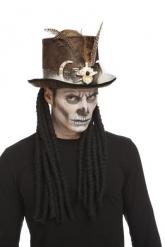 Cappello a cilindro santone vudu 59 cm adulto