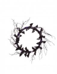 Corona decorativa pipistrelli