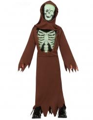 Costume da mummia scheletro bambino