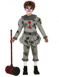 Costume da clown sociopatico per bambino
