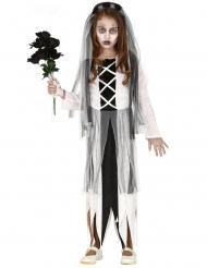 Costume giovane sposa zombie bambina