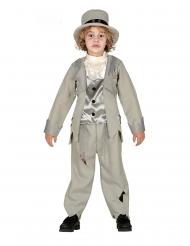 Costume da sposo fantasma in grigio bambino