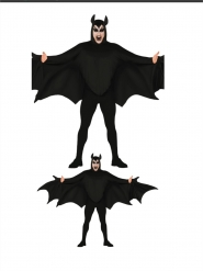 Costume da pipistrello malefico adulto
