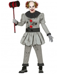 Costume da assassino clown per uomo