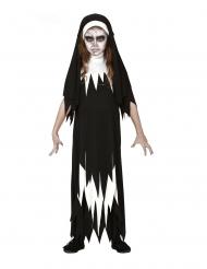 Costumi da suora zombie per bambina