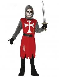 Costume da cavaliere zombie bambino