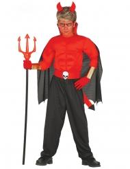 Costume da diavolo muscoloso bambino
